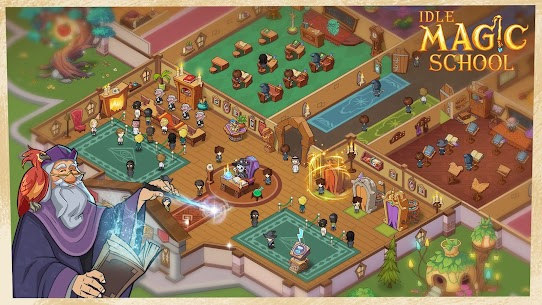 Idle Magic School – Wizard Simulator Game Apk Download 2021 3