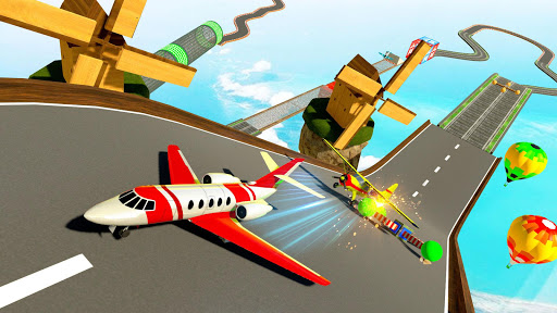 Plane Stunts 3D : Impossible Tracks Stunt Games apkmr screenshots 24