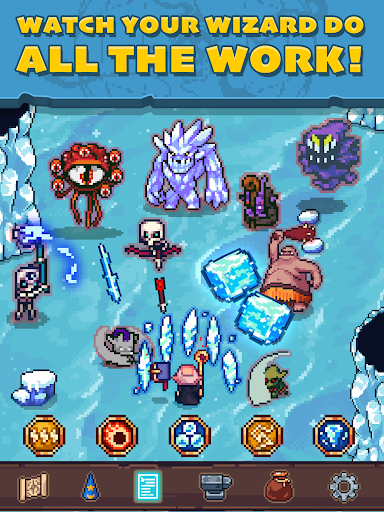 Tap Wizard: Idle Magic Quest 3.1.8 screenshots 10
