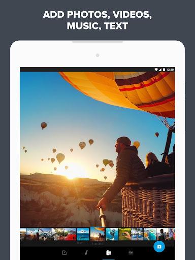 Quik u2013 Free Video Editor for photos, clips, music 5.0.7.4057-000c9d4b4 Screenshots 11