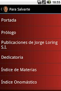 Para Salvarte - Jorge Loring Screenshot