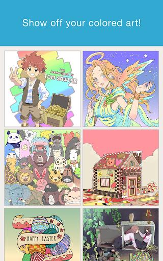MediBang Colors coloring book  Screenshots 6