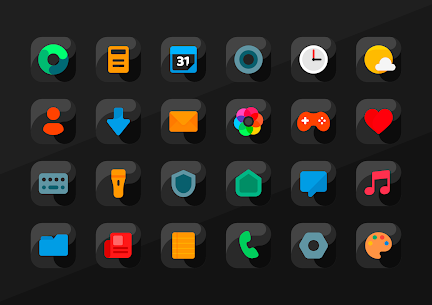 Anubis Black – Icon Pack Apk 2.1 (Paid) 5