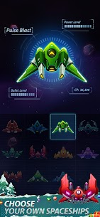 Galaxy Attack – Space Shooter 2020 Ver. 1.6.6 MOD APK | UNLIMITED GOLD | UNLIMITED UPGRADES | NO ADS 2