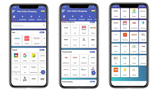USA Online Shopping- All in one Shopping App  screenshots 1