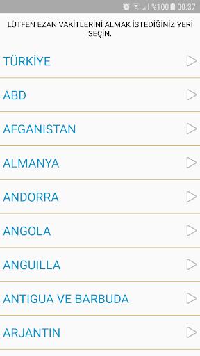 Ezan Vakti Alarmu0131 android2mod screenshots 3