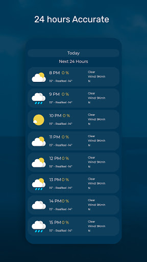 Weather Forecast - Accurate and Radar Maps  Screenshots 6
