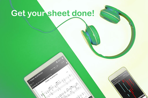 Melody Scanner - Audio to Sheet Music ud83cudfb9ud83cudfb5 modavailable screenshots 1