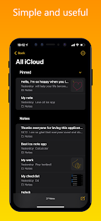 iNote iOS Notes, iPhone style Notes v2.5.3 Pro APK
