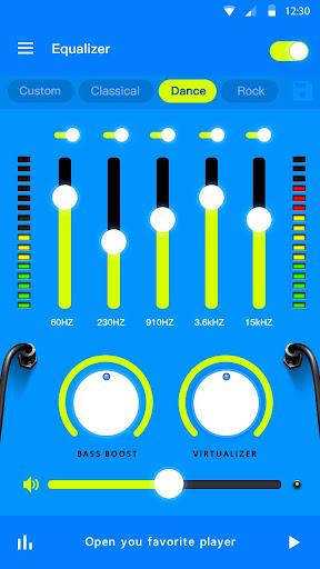 Music Equalizer - Bass Booster & Volume Booster  Screenshots 3