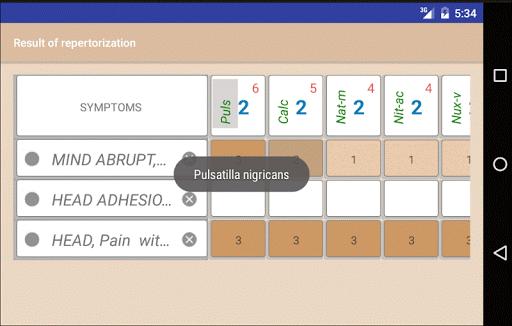 Homoeopathic Repertorium 3.8.9.6 Screenshots 7
