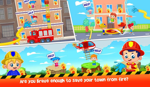 Firefighters Town Fire Rescue Adventures 2.0.1 screenshots 1
