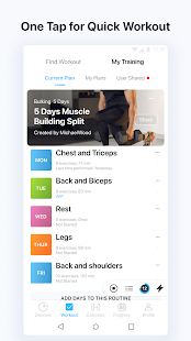 JEFIT Workout Tracker, Weight Lifting, Gym Log App Screenshot