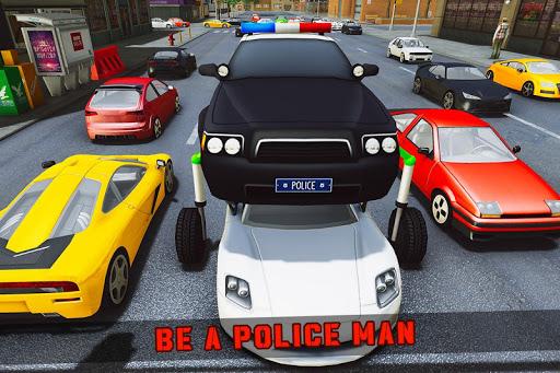 Elevated Car Racing Speed Driving Parking Game apktram screenshots 8