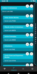 NetCodeFlix (Secret Category Codes) Screenshot