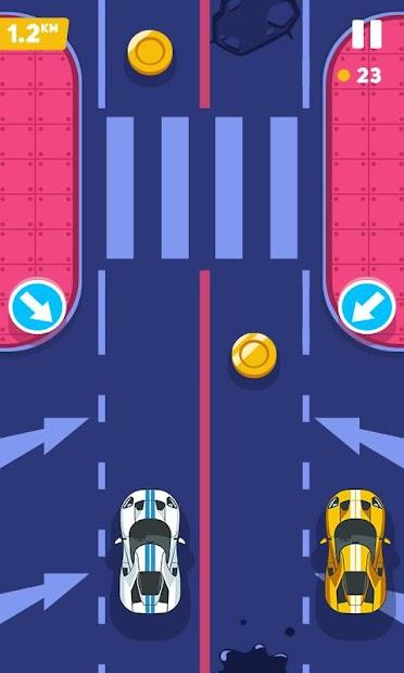 Captura de Pantalla 16 de carrera de coches rápida tiroteo d venganza juegos para android