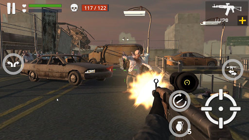 Télécharger Dead Zombie Battle (Green Blood Version) APK MOD (Astuce) screenshots 1