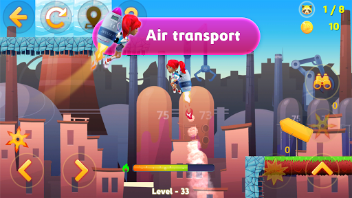 Tricky Liza: Adventure Platformer Game Offline 2D 1.1.41 screenshots 6