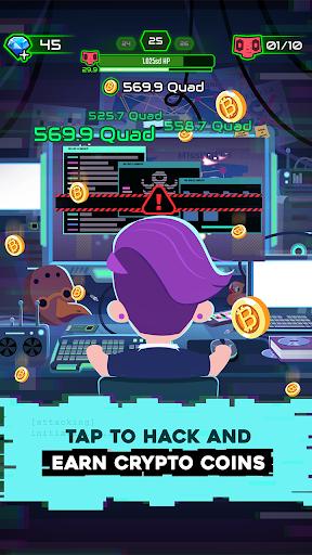 Hacking Hero - Cyber Adventure Clicker Apkfinish screenshots 2