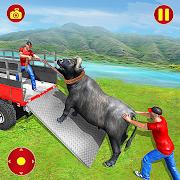 Farm Animals Transporter Truck Simulator :Wild Sim