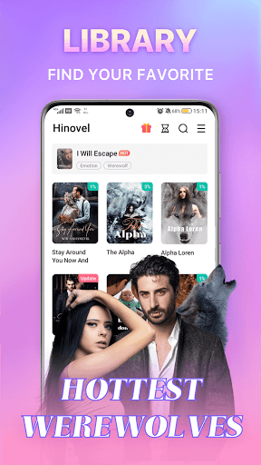 Hinovel 3.1.7 Screenshots 2
