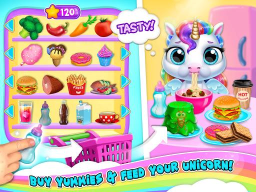 My Baby Unicorn 2 - New Virtual Pony Pet android2mod screenshots 12