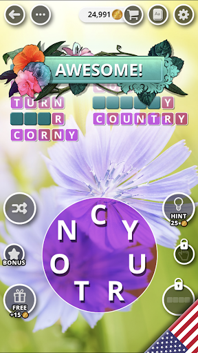 Bouquet of Words - Word game  screenshots 7