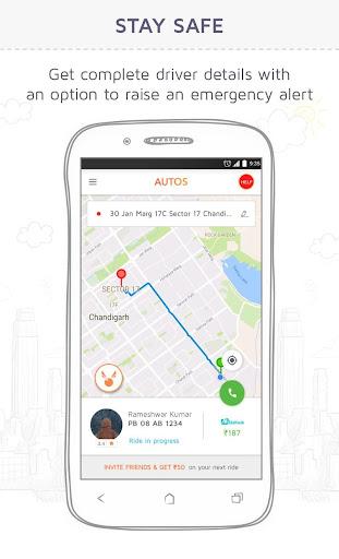 Jugnoo - Taxi Booking App & Software 4.7.0 Screenshots 3