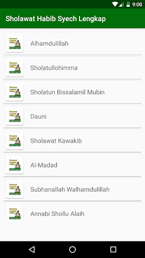 sholawat habib syech offline + lirik lengkap screenshot 3
