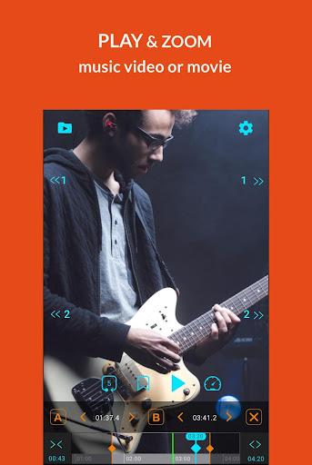 looper! loop, zoom, ab repeat & bookmark videos screenshot 1
