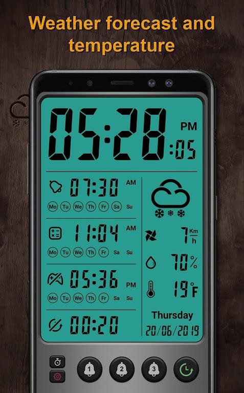 Alarm clock Pro  poster 1