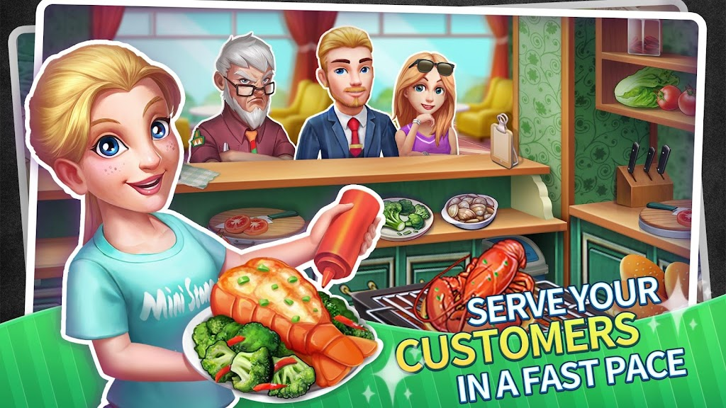 My Restaurant Empire - 3D Decorating Cooking Game  poster 15