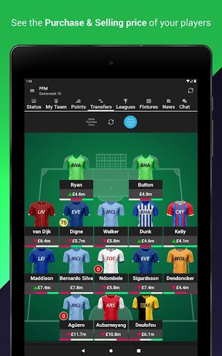(FPL) Fantasy Football Manager for Premier League android2mod screenshots 12