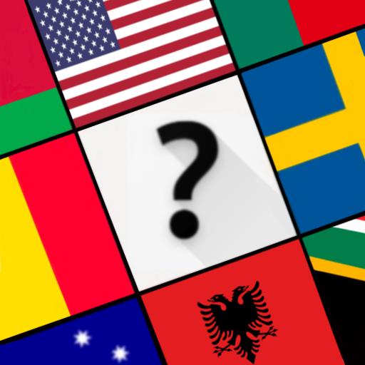 Flags Quiz:  World Geo Trivia Game