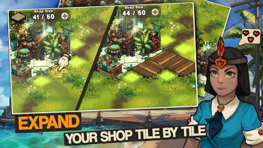Tiny Shop: Cute Fantasy Craft, Design & Trade RPG 0.1.12 screenshots 3