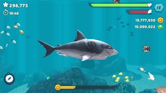 Hungry Sharks Evaluation MOD APk 8.2.0 (Money, Gems) 8