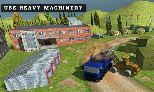 offroad 3d construction game screenshot 1