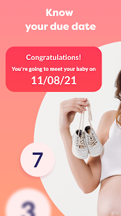 Pregnancy due date tracker with contraction timer 1.23.0 Screenshots 4