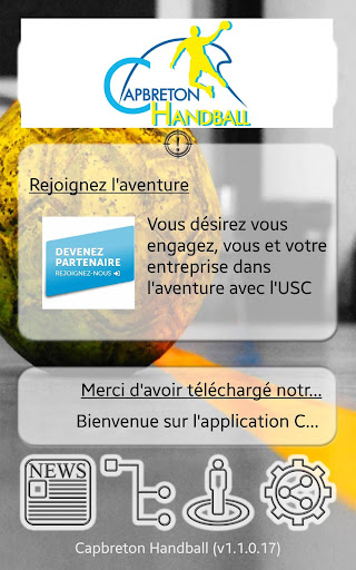 capbreton handball screenshot 1