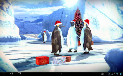 Christmas Edition: Penguins 3D For PC Windows (7, 8, 10, 10X) & Mac Computer Image Number- 8