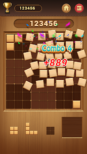 Wood Block Sudoku Game -Classic Free Brain Puzzle 5