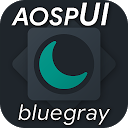 aospUI BlueGray, Substratum Dark theme +Synergy