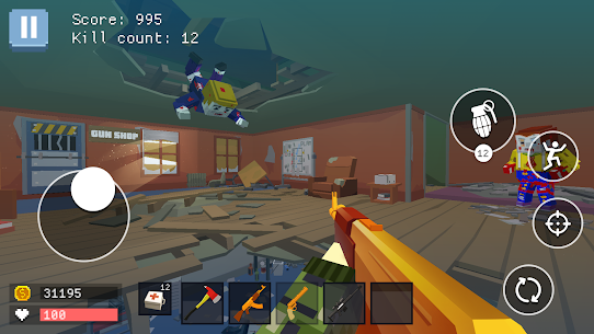Pixel Combat: World of Guns Hack Game Android & iOS 5
