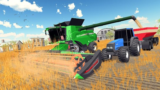 Real Tractor Farming Game 2020 Apk 2