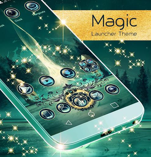 Magic Launcher Theme  screenshots 1