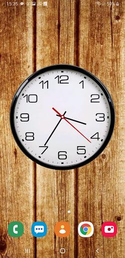 Battery Saving Analog Clocks Live Wallpaper 6.5.1 Screenshots 1