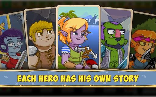 Let's Journey - idle clicker RPG - offline game 1.0.19 screenshots 15