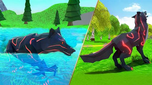 Wild Wolf Chasing Animal Simulator 3D 1.5 Screenshots 8