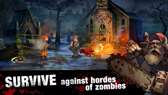 Zero City: Zombie shelter survival Mod Apk (One Hit) 4