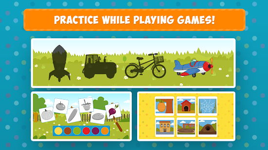 The Blue Tractor: Fun Learning Games for Toddlers 1.2.0 Screenshots 5